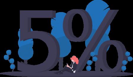 5% de frais de gestion chez InfoPortage