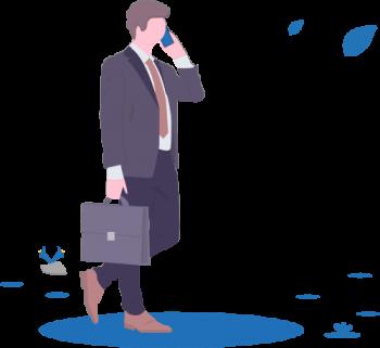 businessman_toutes activites de prestation de services